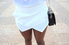 Zara triangle skirt.