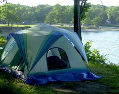Blue Ridge Bay Tent with Porch . Blue Ridge Bay Tent with Porch . How to Camp Through Wine Country Minnesota Camping, Camping In Ohio, 12 Person Tent, Used Camping Gear, Camping Resort, Cabin Tent, Lake Erie, Beach Trip