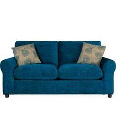 Teresa Fabric Sofa Bed - Teal.