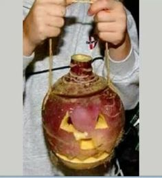 Halloween with turnips. The smell once lit was awsome