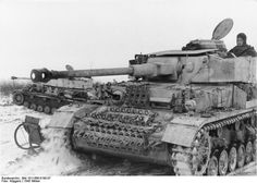 Panzer IV's on the East front