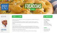 Focaccias Clásicas por Carlos Troilo, Maestro Panadero del EAG