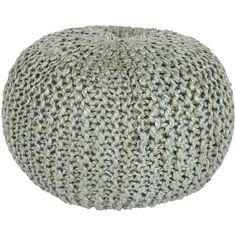 Bermuda Sphere Pouf Ottoman by Surya