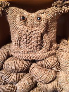 Whoo needs yarn? Pattern and yarn available!