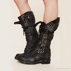 Jeffrey Campbell Studded Seattle Love Boot   Free People - yet another pair  that take my breath away.my only wish is that there was no zipper and it  was ... ffd389eae4