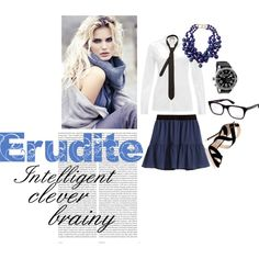 """Divergent Trilogy - Erudite Outfit"" by fire-starter-ria on Polyvore #divergent #lovers #unite"