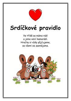 Krtkova Pravidla :: Msbystrice La Petite Taupe, Preschool Food, Games For Kids, Kindergarten, Classroom, Education, Learning, Creative, Blog