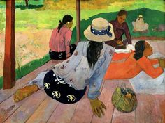 Gauguin - siesta