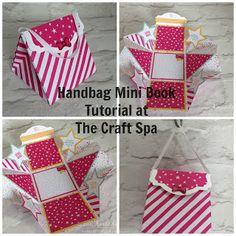 The Craft Spa - Stampin' Up! UK independent demonstrator : Handbag Mini Book…