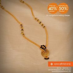 and from our festive collection. Gold Mangalsutra Designs, Gold Earrings Designs, Necklace Designs, Gold Chain Design, Gold Jewellery Design, Gold Jewelry, Jewelery, Gold Necklace, Nose Ring Jewelry