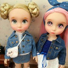 double trouble! Custom Rapunzel Disney Animator Dolls by amytaohua