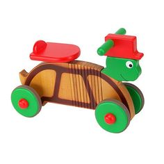 Wooden Rock & Ride Turtle, £145 at www.thelittlefurnitureco.co.uk