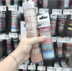 Rose gold washi tape from Michael's #washitape #rosegold #plannergoodies #plannergirl