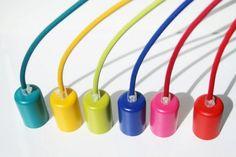 Lampa CableOne Metalove kolorowe