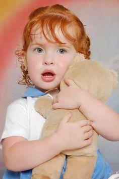 Alma Ruiva  Dia das crianças com ruivinhos lindos! f49068d0991
