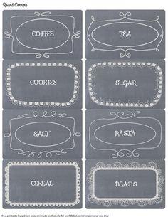 reorganized simplicity free printable chalkboard style pantry