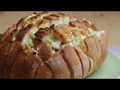 Pan relleno de cebolla y queso - YouTube