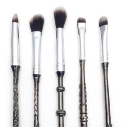 The set of five is $55, and doesn't including shipping. Storybook Cosmetics, a new fandom-based cosmetics company, expects to ship 'em out worldwide on Dec. 10 (or even sooner), but says they're also expected to sell out of these magical face-wands.