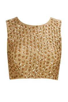 INTRODUCING : Gold sequins embellished crop top by Astha Narang. Shop now at www.perniaspopups... #fashion #designer #krishnamehta #shopping #couture #shopnow #perniaspopupshop #happyshopping