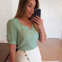 13 Super Cheap Ruffle Top You Must Buy - oldiesbutcoldies Kurti Sleeves Design, Sleeves Designs For Dresses, Fancy Blouse Designs, Traditional Dresses Designs, Myanmar Dress Design, Casual Outfits, Fashion Outfits, Blouse Styles, Blouses For Women