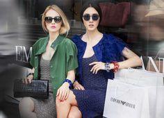Street Style - Fashion Blog - Fabulous Muses - Armani - Fashion Editorial - Diana Enciu - Alina Tanasa