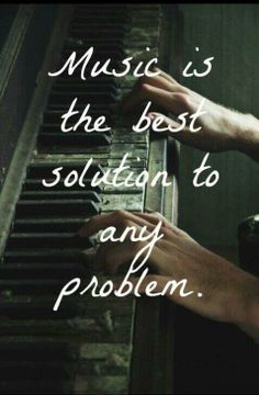 """Music is the best solution to any problem.""  CYMBER - pioneering harpist www.cymber.com"