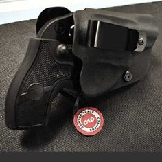 Ruger LCR revolver in kydex holster.Loading that magazine is a pain! Get your Magazine speedloader today! http://www.amazon.com/shops/raeind