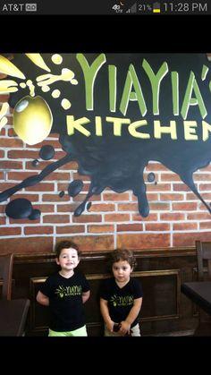 Yiayia's Kitchen...Greek food in Beltsville next to Sardi's. Must try lamb gyros during $5 gyro Tuesdays.