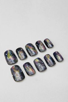 Celestial Acrylic Nail Set ...don't think they are worth $32 to me though