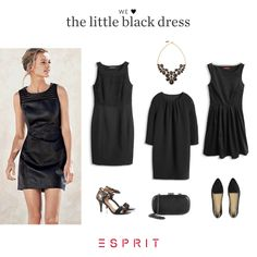 #Esprit <3 the little black #dress!