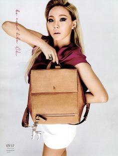 CL (2NE1) for Hazzys Accessories S/S 2015