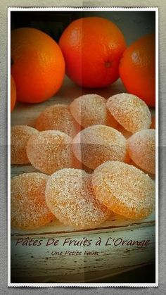23 Clever DIY Christmas Decoration Ideas By Crafty Panda Candy Recipes, Gourmet Recipes, Sweet Recipes, Dessert Recipes, Cooking Recipes, Orange Dessert, Orange Fruit, Desserts With Biscuits, Mini Desserts