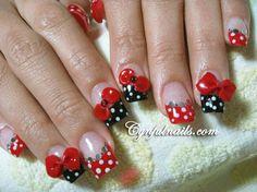 Acrylic nails Disney inspired