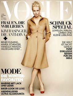 GERMAN VOGUE - NOVEMBER 2007 COVER MODEL - KIM BASINGER