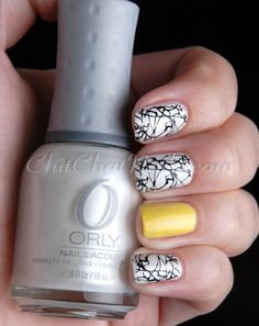Pop Of Colour With A Splat - M #nails, #fashion, https://facebook.com/apps/application.php?id=106186096099420