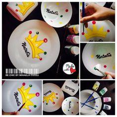Set masa 3 piese - personalizat la comanda (NATALIA) - pictat manual cu vopsea speciala de cea mai inalta calitate - ars in cuptor pentru rezistenta maxima!!! http://bechic-mihaelacuceu.blogspot.ro/p/atelierul-de-creatie.html