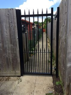 Residents feeling safer with our RSG3200 Entrance & Access Gates guarding their residential complex in Oxfordshire.