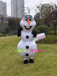 Frozen アナと雪の女王 人気キャラクター オラフ着ぐるみ http://www.mascotshows.jp/product/Olaf-mascot-kigurumi.html