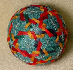 Hey, I found this really awesome Etsy listing at https://www.etsy.com/listing/399357223/japanese-temari-ball