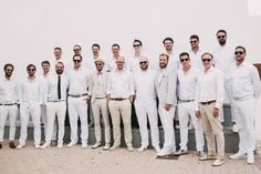Image result for white dress code wedding