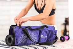 Our open ends Yoga Mat Bag Check it out on Amazon @Yoga EVO