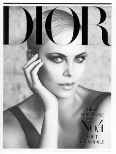 Charlize Theron by Patrick Demarchelier for Dior Magazine #4