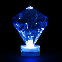 LED Diamond Light - Blue Submersible