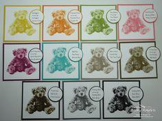 Inking Idaho: Baby Bear Stamp Set