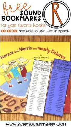 I love using picture books in speech therapy. I can target language and articulation goals.