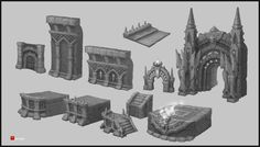 ArtStation - Dungeon 2, Dmitriy Barbashin