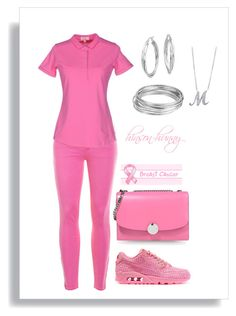 """""""Looking @ football in Pink"""" by hinson-hunny ❤ liked on Polyvore featuring J.Crew, SUN68, NIKE, Marc Jacobs, Blue Nile, Worthington and BERRICLE"""