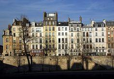 Ile Saint-Louis, Paris — c'est très gentil