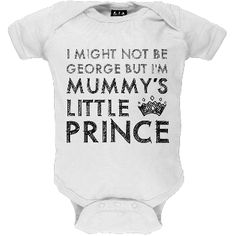 Prince George - Mummy's Little Prince Infant Bodysuit