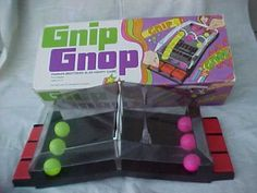 Toys & Games Of Yesteryear - Gnip Gnop Childhood Games, My Childhood Memories, Great Memories, 1970s Toys, Retro Toys, Vintage Toys 1970s, Gnip Gnop, I Remember When, Vintage Games
